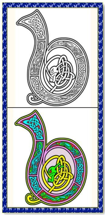 25 best ideas about Celtic Alphabet