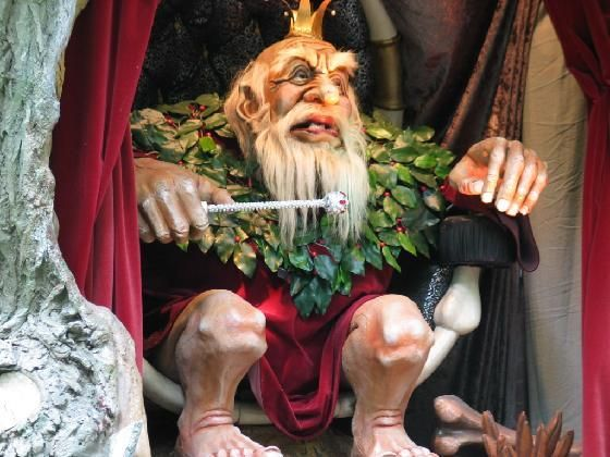 The fortune teller troll  - Efteling