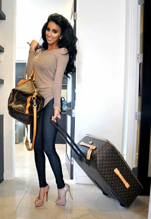 Lilly Ghalichi's travel in style..             ..................................................        also repinned at sharingclub.tumblr.com
