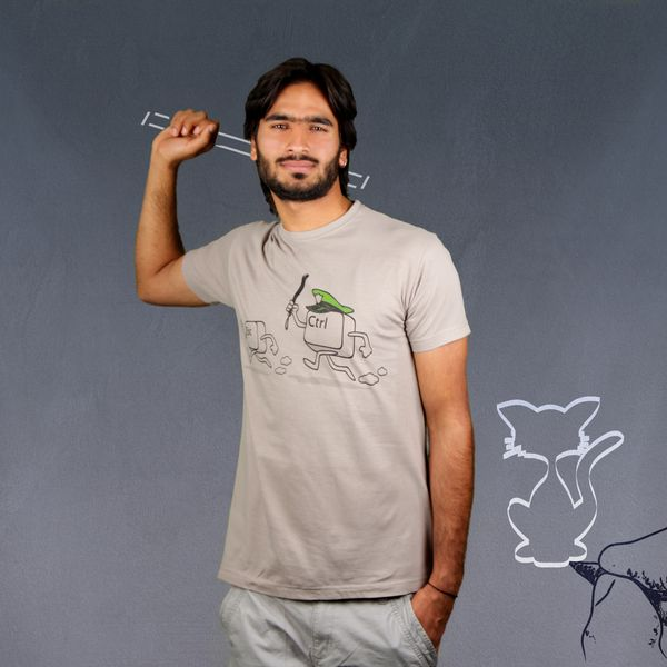 Escape The Control (Herren T-Shirt) von Kater Likoli auf DaWanda.com