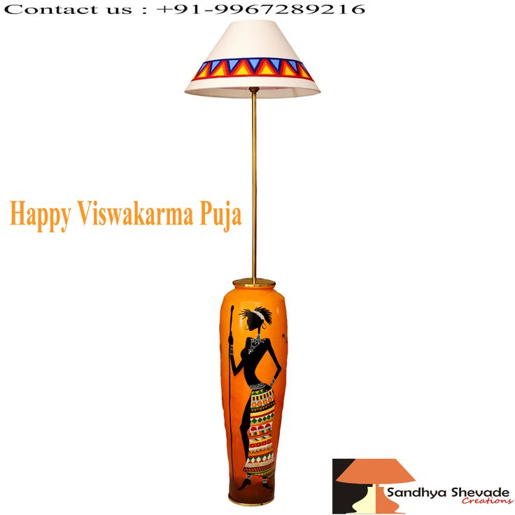 May Lord #Viswakarma #craft your life divinely ! Visit us :www.sandhyashevadecreations.com #ViswakarmaPuja #crafted #Lampshade