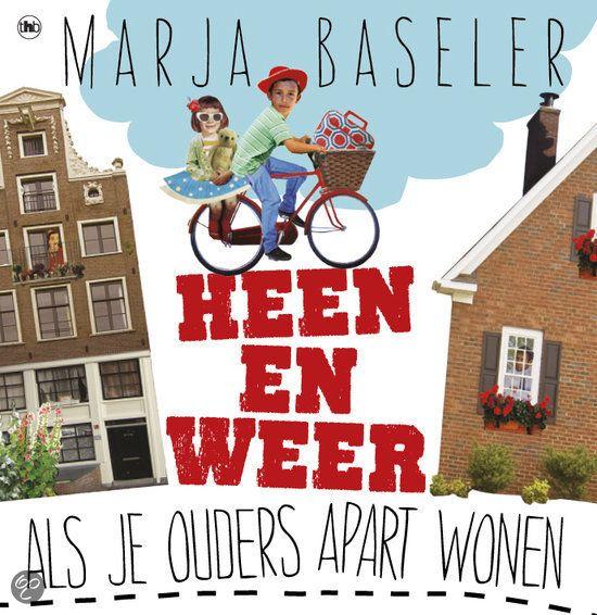 (B) Echtscheiding - Heen en weer, Marja Baseler - 2011 - Als je ouders gaan scheiden en apart gaan wonen, is dat meestal niet gemakkelijk. Wat moet je weten en hoe ga je ermee om? Met doe-opdrachten, ervaringen van andere kinderen en veel kleurenillustraties. Vanaf ca. 8 t/m 12 jaar.