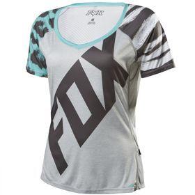 Koszulka rower Fox Lady Lynx grey. Koszulki Fox Lady Lynx zostały stworzone do pokonywania bajecznych single tracków. Doskonale nadają się do ogólnie pojętego All Mountain, Trail czy Enduro. Koszulki są niezwykle lekkie i przewiewne. #koszulkadamska #odziezrowerowa
