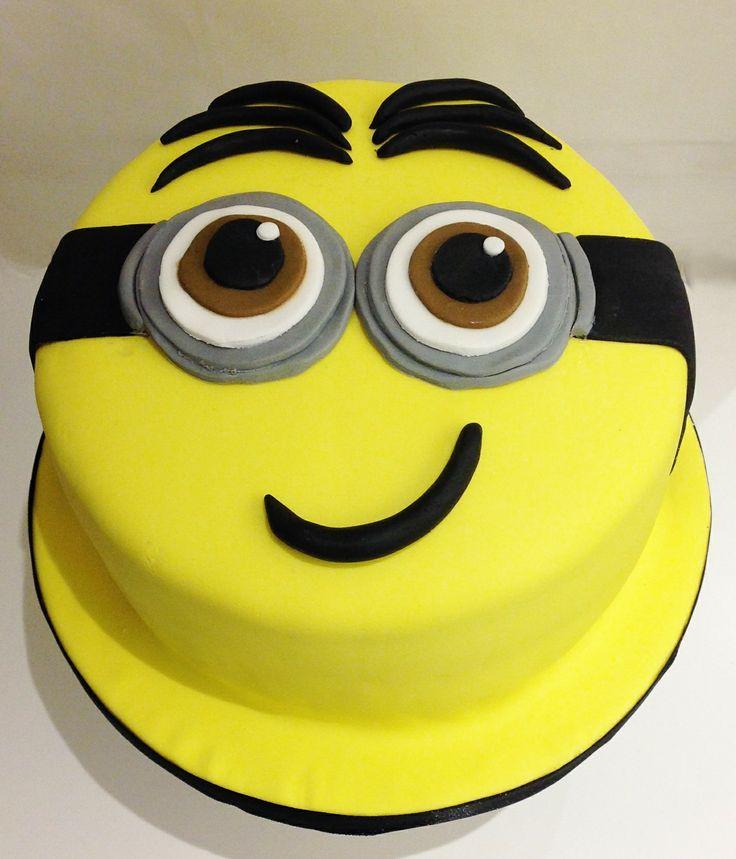 Minions Birthday Cake Cake Birthday Cake Cake Decorating