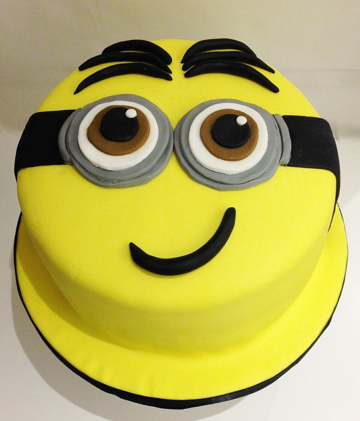 Minions Birthday Cake Boys Amp Fun Pinterest Birthdays