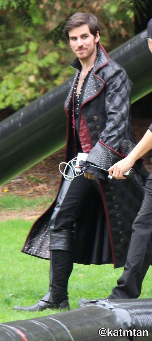 Colin O'Donoghue on the set looking fine af