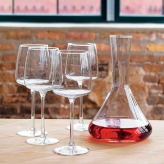 these look very much like the iittala glasses i love but a fraction of the price