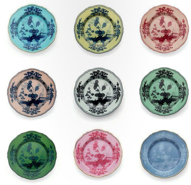 Richard ginori plates design objects pinterest plates for Calligrapher canape plate