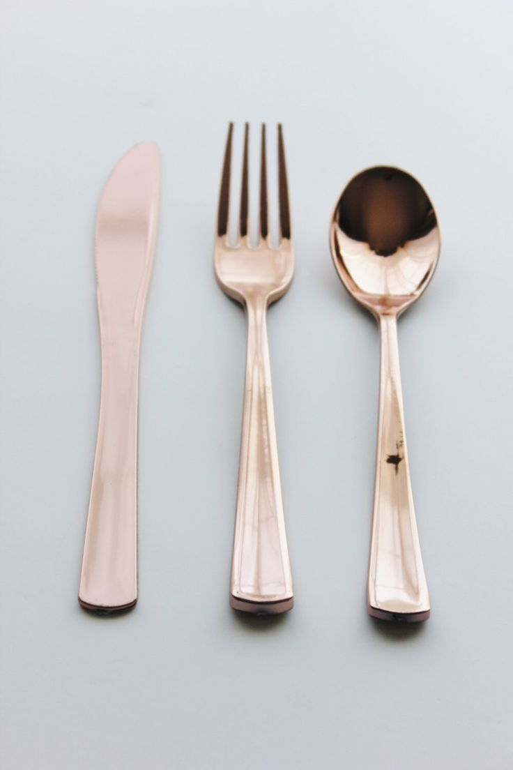 120 ASSORTED FAUX COPPER Cutlery Plastic Forks Spoons Knives Modern Tableware Rose Gold Vintage Style Wedding Shower Party Shabby Chic by TheFulfilledShop on Etsy https://www.etsy.com/uk/listing/276894052/120-assorted-faux-copper-cutlery-plastic
