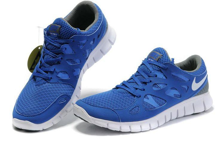 Nike Free Run 2,0 Herren Schuhe Sale Blau