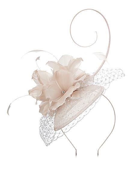 Jacques Vert Feather Flower Fascinator #kaleidoscope #wedding #weddingguest
