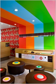 Sprinkles cupcake shop, NYC - I've heard all about this place and would love to visit.