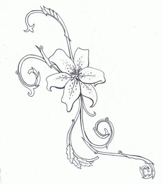 Tiger Lily Tattoo by ~KarianaSan on deviantART