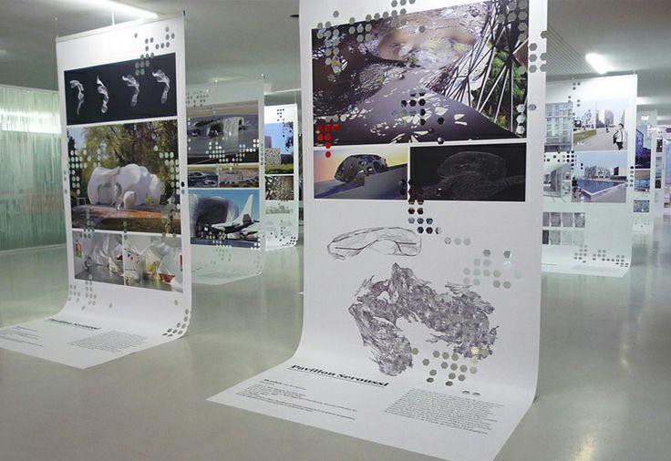 Les produits de l'épicerie / design graphique / Dentelles d'architecture /MAV-NPDC