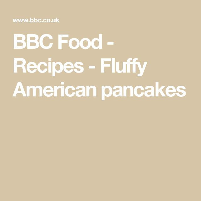 Fluffy american pancakes recipe american pancakes and pancakes forumfinder Gallery