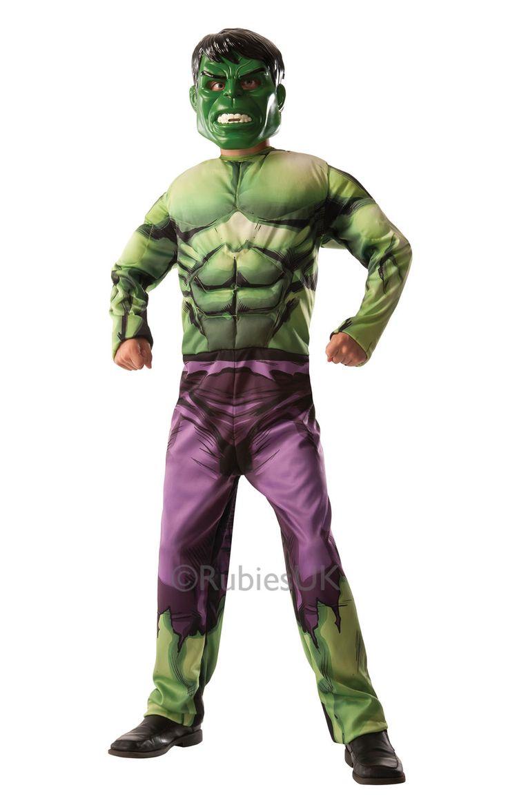 Hulk / Captain America -kääntöasu Deluxe. Haalari on käännettävä naamiaisasu, jonka toisella puolella on Hulkin vihreä muskelihahmo ja toisella puolella erityisen supersotilasseerumin avulla luotu Kapteeni Amerikan hahmo.