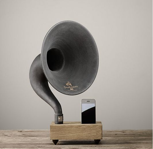 Restoration Hardware Gramophone: 61 Best Office At Home Images On Pinterest