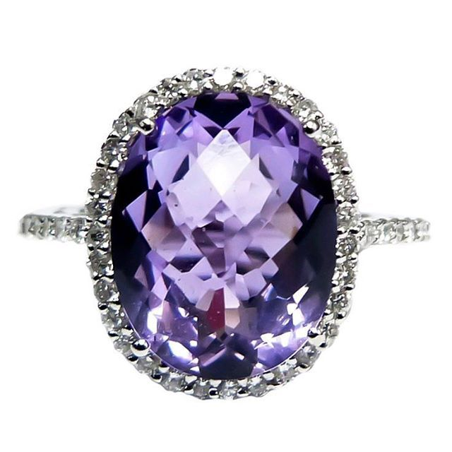 Büyüleyici Ametist#amethyst #diamond #pirlanta