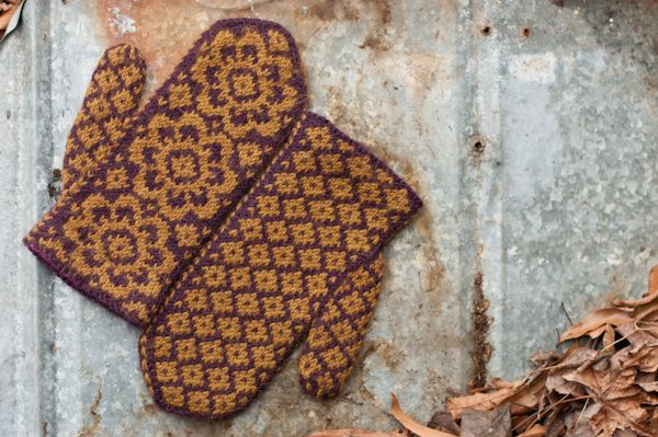 End of May Mittens by Mandy Powers | Fair Isle/Stranded designs | Pin ...