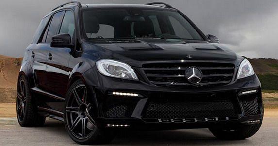 TopCar Mercedes ML63 AMG Inferno Black