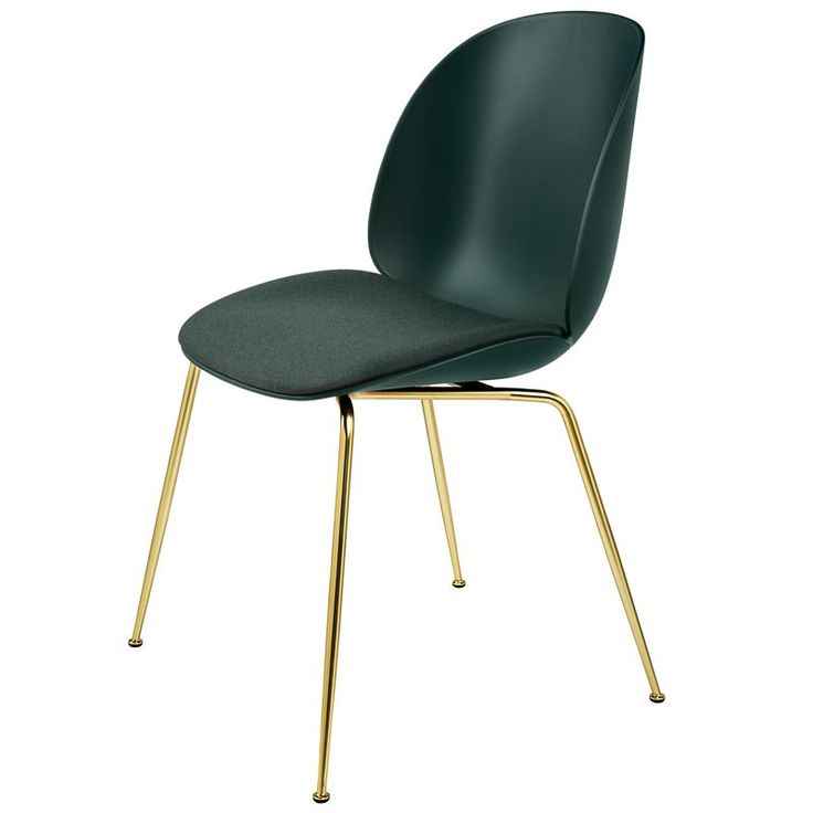 Silla Beetle Frontal Tapizado - Plastic   Dining chairs ...