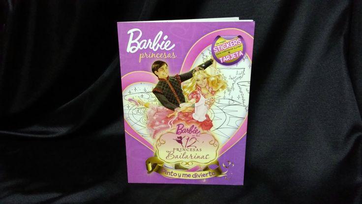 [Barbie Princesas - Pinto Y Me Divierto] Las 12 Princesas Bailarinas