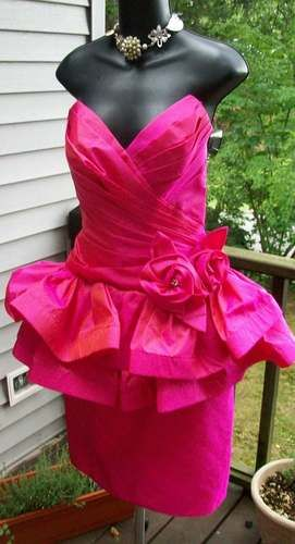 Incredible 43 Best 80S Totally Awesome Prom Dresses Images On Pinterest Hairstyles For Women Draintrainus