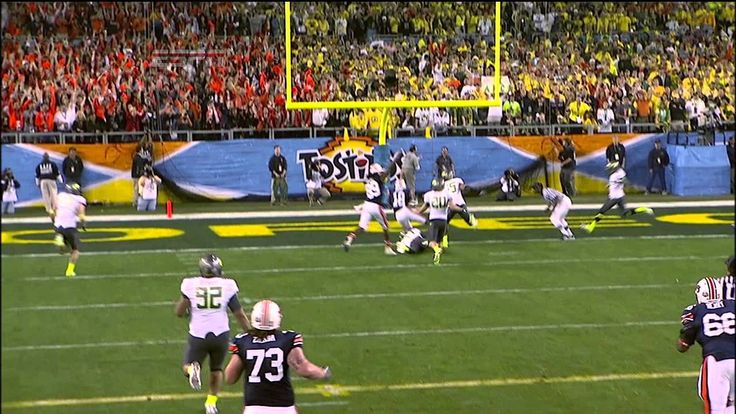 Cam Newton to Kodi Burns TD in 2011 BCS Championship Game #TBT