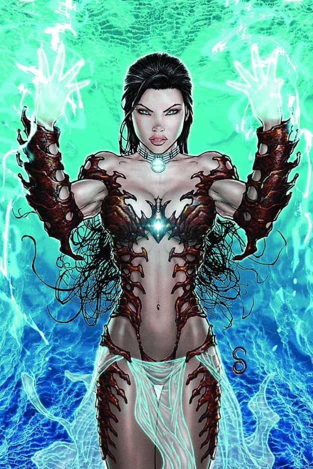 Witchblade  Auction your comics on http://www.comicbazaar.co.uk