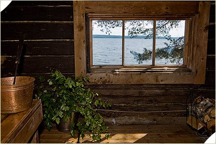 A traditional Finnish sauna is rustic and an earthbounded place with less of…