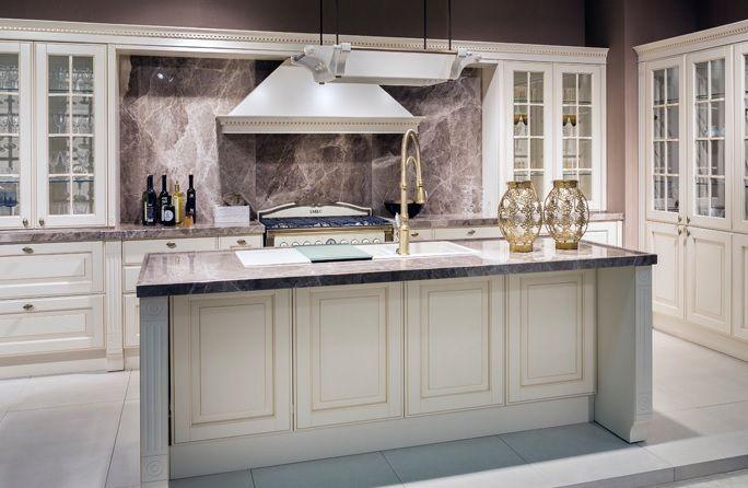 Vanucci Ambrato Klasik Tarz Mutfak Dolapları | Mutfak Mobilyaları