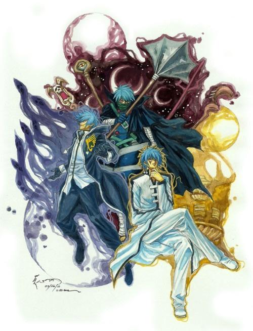 Fairy Tail Mystogan Chibi