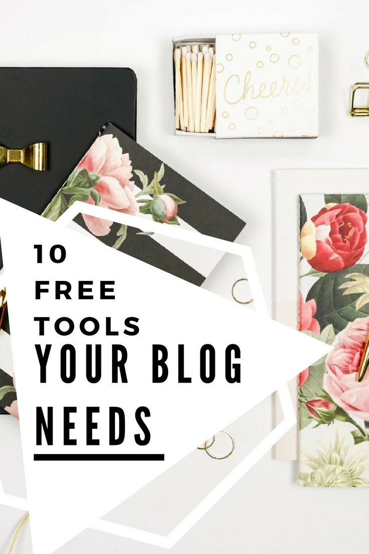 Set your blog up for success with these 10 free blogging tools that have saved my life! Perfect for beginner bloggers