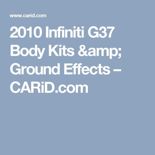 2010 Infiniti G37 Body Kits & Ground Effects – CARiD.com