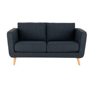 Canapé 2/3 places fixe tissu ... - Nils 170cm 554€