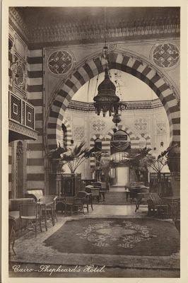 Cthulhus Treasure Box: Shepheards Hotel Cairo