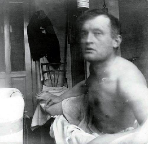 Edvard Munch, Self-portrait, c.1908.
