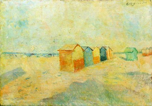 Eduardo Gordigiani - Spiaggia