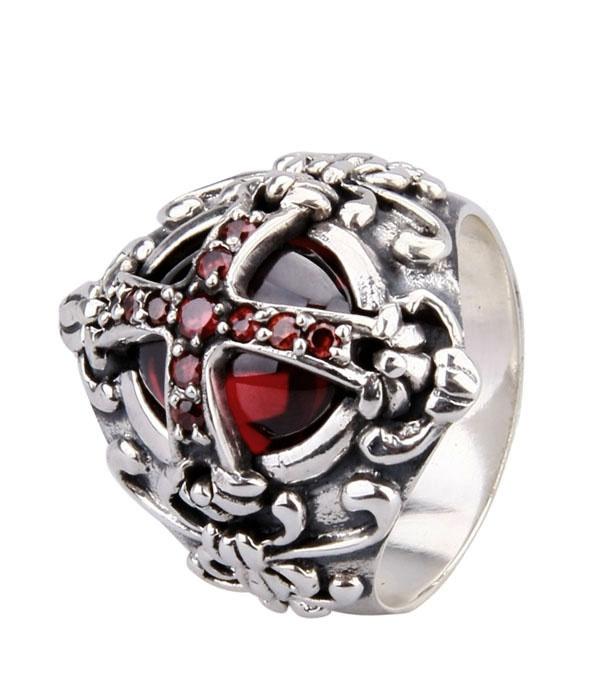 Silver Mens Rings D