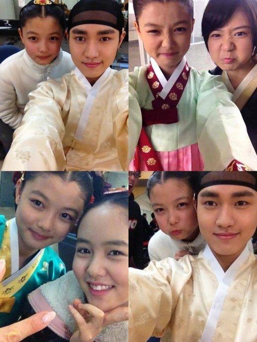 91ce5a7ceb4 The Moon That Embraces The Sun  Selfies   Korean Drama in 2019   Kim yoo  jung, Korean drama, Moon