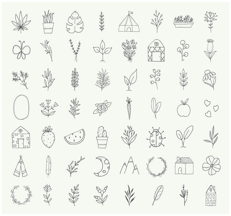 Minimalist Plant Art