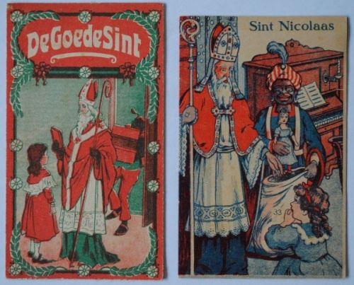 De Goede Sint en Sint Nicolaas ca. 1920