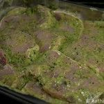 Schweinerücken in grüner Pfeffer-Estragon Marinade