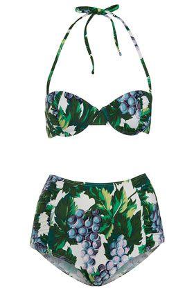 TOPSHOPPurple Grape Underwired Bikini
