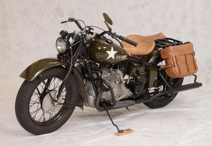 WWII Indian motorcycle among offerings at Mid America's Pebble Beach auction | Hemmings Daily