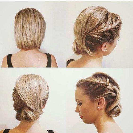 Mejores 23 imgenes de Peinados Para Cabello Corto en Pinterest