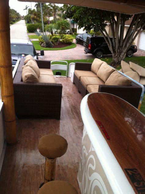 Best 25 party barge ideas on pinterest pontoons for Pontoon boat interior designs