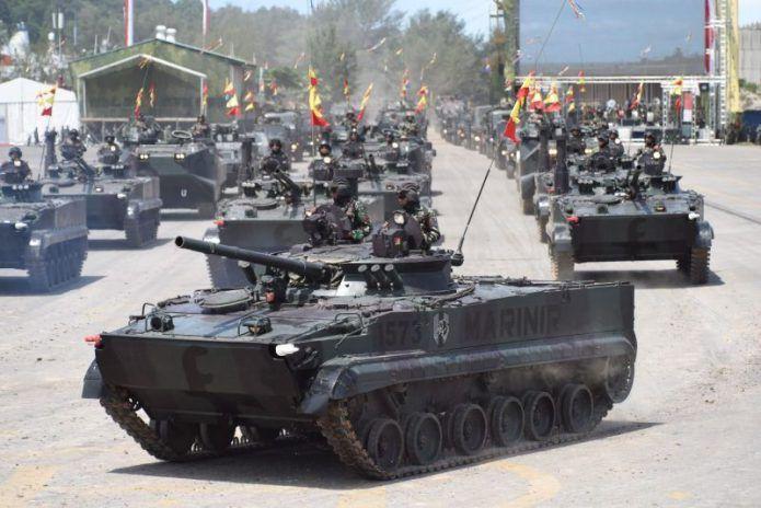 TNI AL Unjuk Gigi, Pamer Alutsista Baru dan Inovasi di HUT TNI 2017