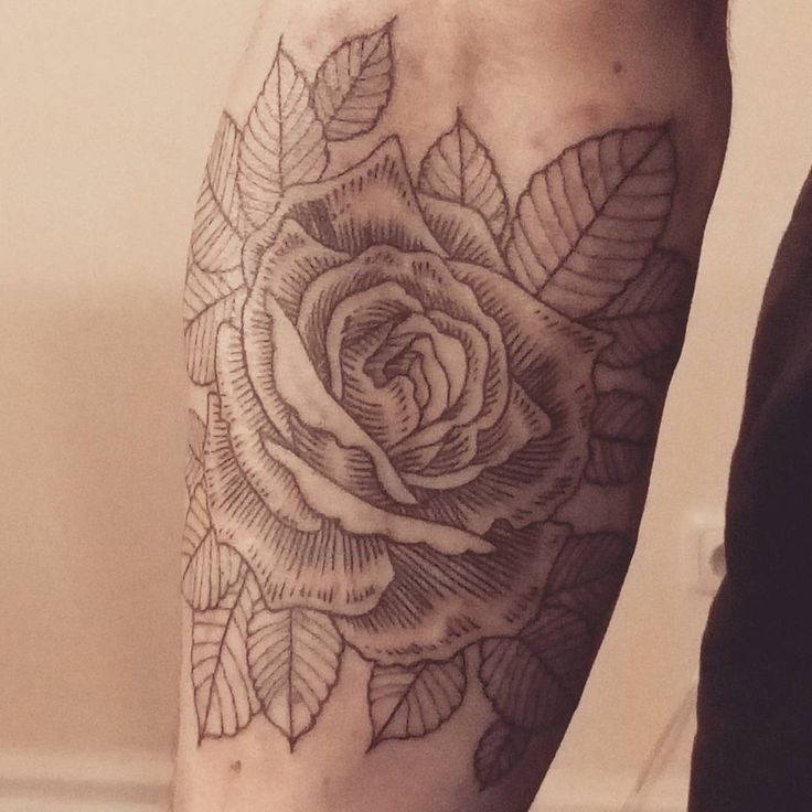 "#rose ""tattoo #gabrielbendandi"