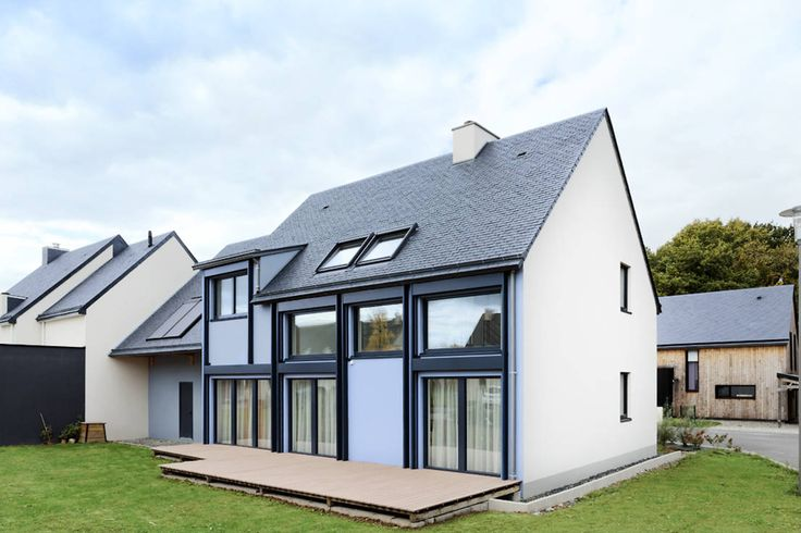 Ein schickes Passivhaus für die ganze Familie, das beweist, dass ökologisches Bauen und modernes Wohnen durchaus miteinander kombinierbar sind.